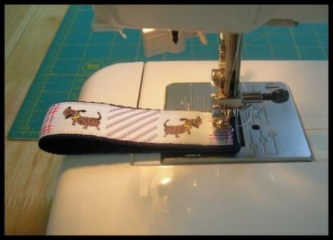 9 fold & stitch end