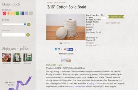 cottonsolidbraid